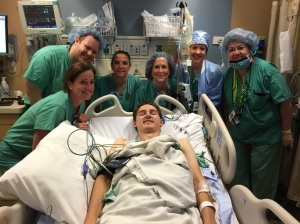 Great group that helped and performed his procedure today.